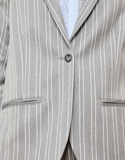 Blazer jacket Blair Fancy - STEEL STRIPED