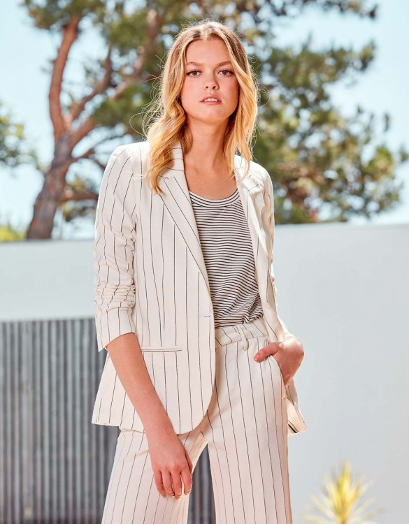 Veste blazer Blair Fancy - WHITE STRIPED
