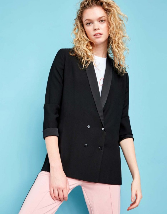 Veste blazer Victoire - BLACK