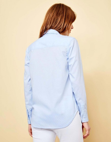 Shirt Carlo Pearl - BLUE SHIRT