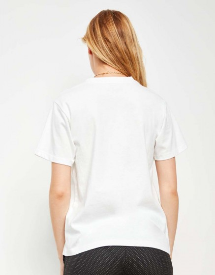 Tee-shirt Travis Printed - OFF WHITE
