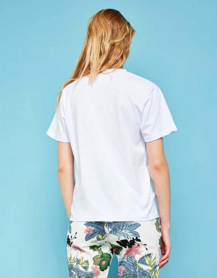 Tee-shirt Travis Brand - WHITE