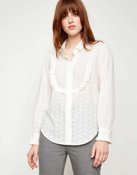 Chemise Cliff Fancy - OFF WHITE