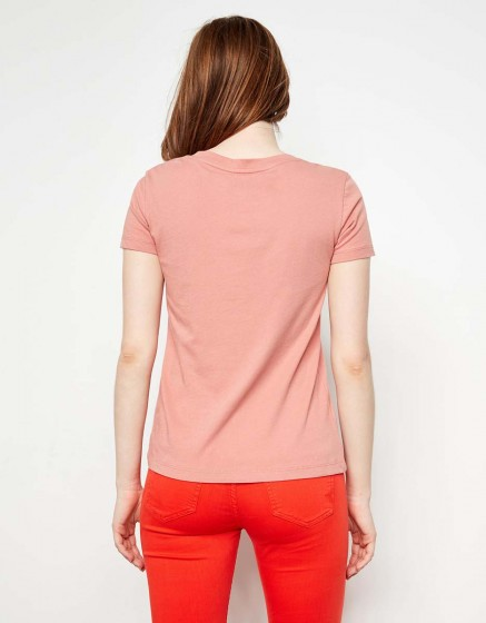 T-shirt Ted - OLD ROSE