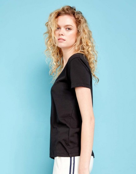 T-shirt Ted - BLACK
