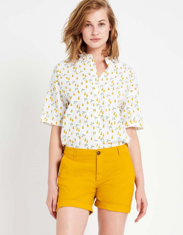 Short Satcy Color - SUNFLOWER
