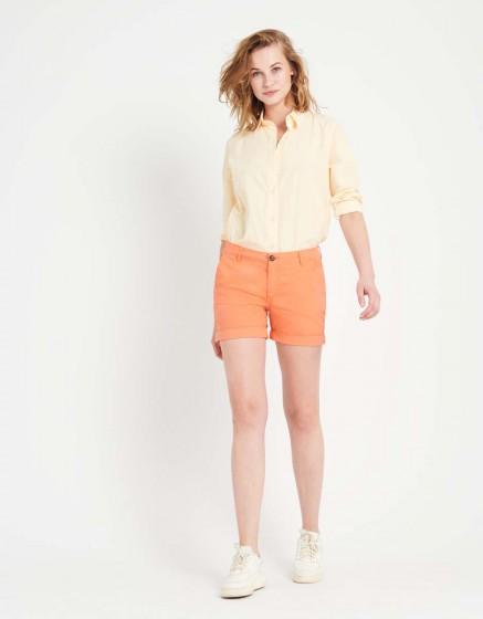 Short Stacy Color - FLAMINGO