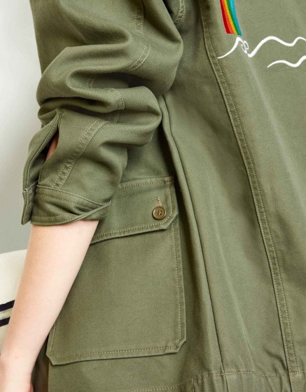 Army jacket Sergent - KAKI