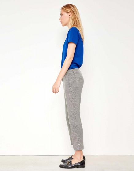 Cigarette Cropped Trousers Laura Fancy - DROPS