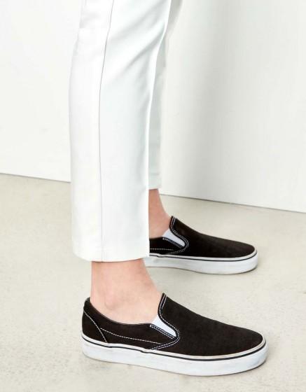 Pantalon Cigarette Laurent Color - WHITE