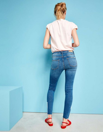 Jean skinny cropped Lily Zip - DNM B-24