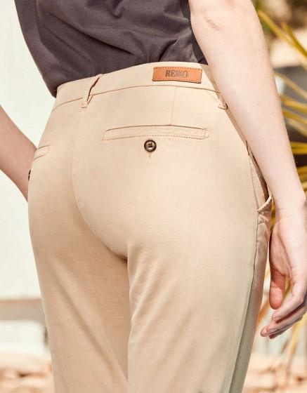 Chino Trousers Sandy Skinny - BEIGE