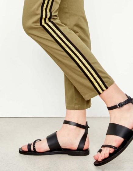 Pantalon chino Sandy Herring - KAKI