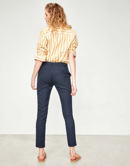 Cigarette Trousers Lizzy Fancy - POLKA DOTS