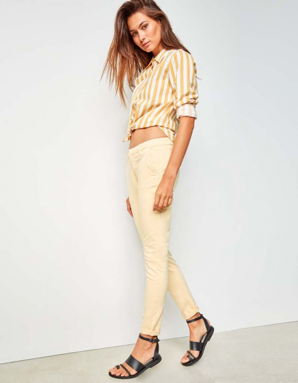 Chino Trousers Sandy - VANILLE