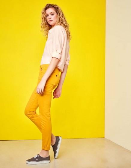 Chino Trousers Sandy - SUNFLOWER