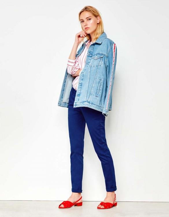 Pantalon chino Sandy - NAUTICAL BLUE