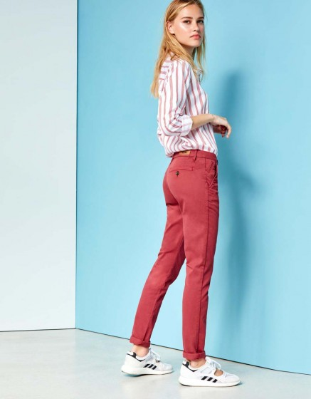 Chino Trousers Sandy - GRIOTTE