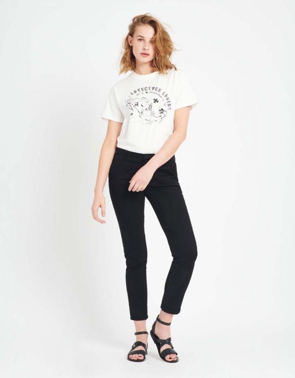 Pantalon chino Sandy - BLACK