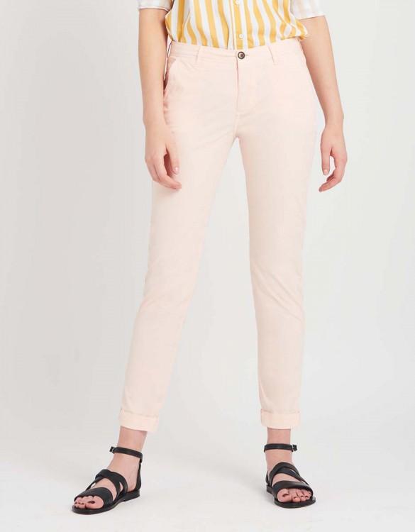 Pantalon chino léger Pam - POUDRE