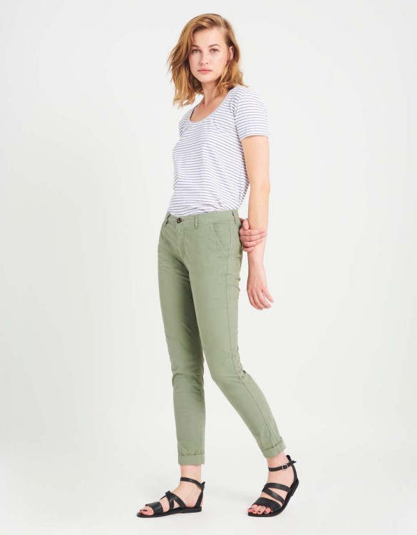 Light Chino trousers Pam - MINERAL