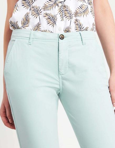 Pantalon chino léger Pam - GLACIER