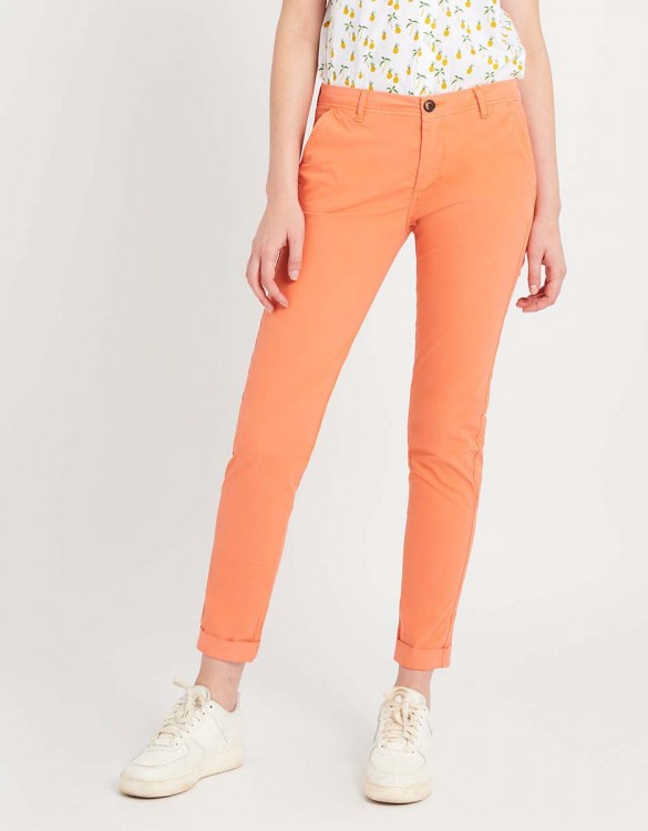 Pantalon chino léger Pam - FLAMINGO