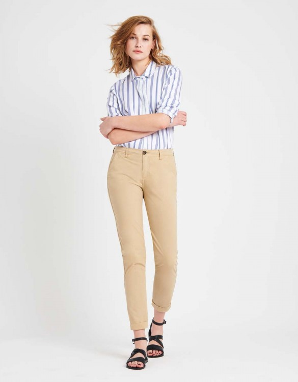Light Chino trousers Pam - BEIGE