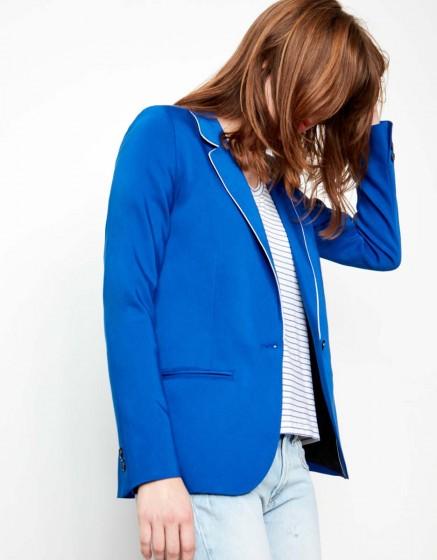 Veste blazer Blair Color - NAUTICAL BLUE