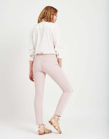 Street trousers Elvin Fancy - PINK STRIPES