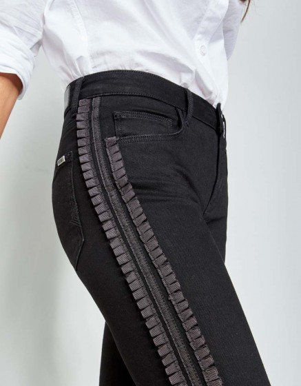 Skinny jean Noris Fold - DNM BLACK