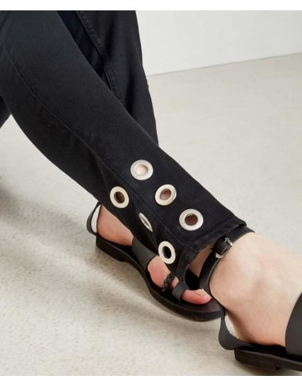 Jean skinny Noris Ring - DNM BLACK