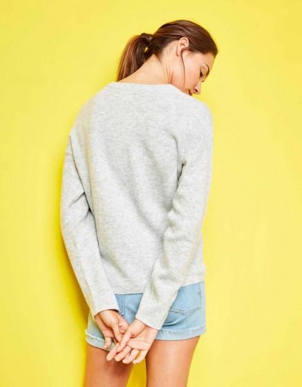Sweater Sevan - GRIS CHINE