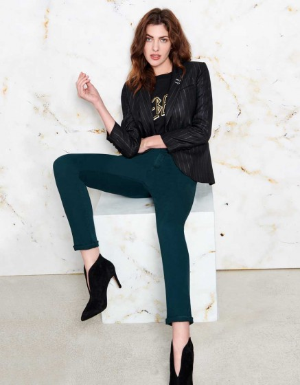 Chino Trousers Sandy - VERT IMPERIALE
