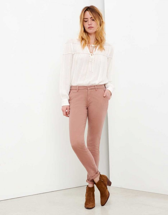 Chino Trousers Sandy - PRALINE