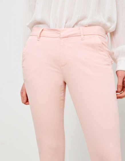 Chino Trousers Sandy - ROSE NUDE