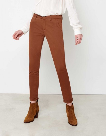 Chino Trousers Sandy - TABAC