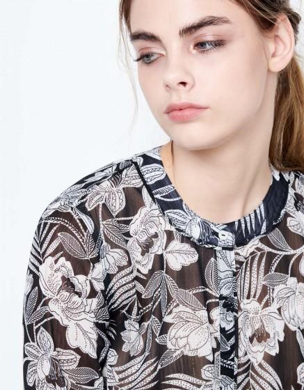Shirt Carrie - JAPANESE GARDEN