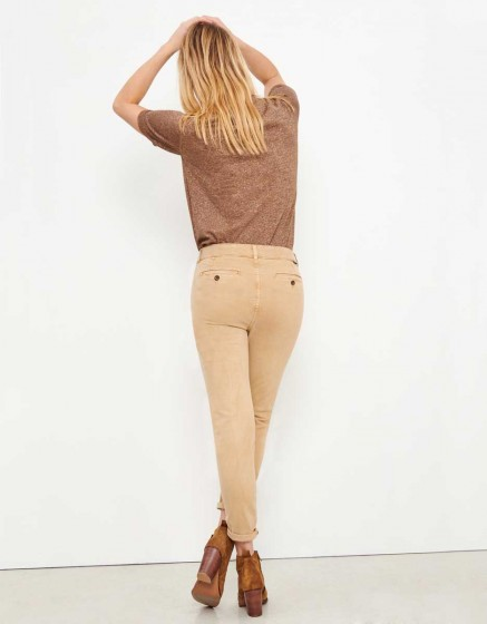 Chino Trousers Sandy Tapered - BEIGE