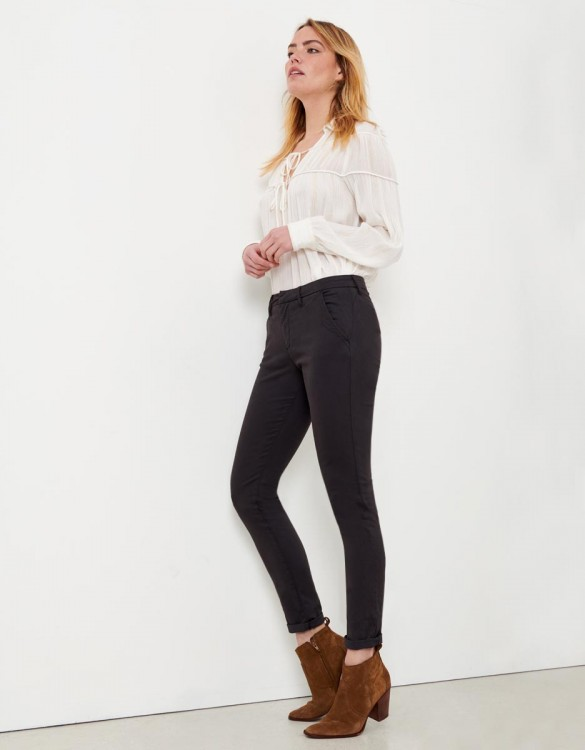 Pantalon chino Sandy - CARBONE