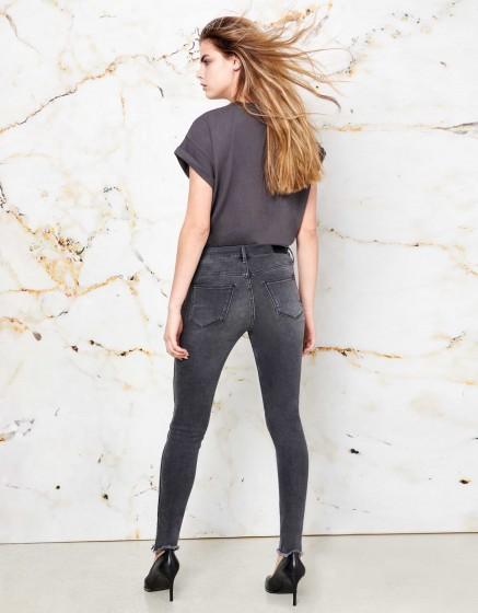Skinny cropped Jean Lily Herring - DNM V-12