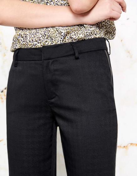 Pantalon cigarette Lizzy Fancy - HERRING BLACK
