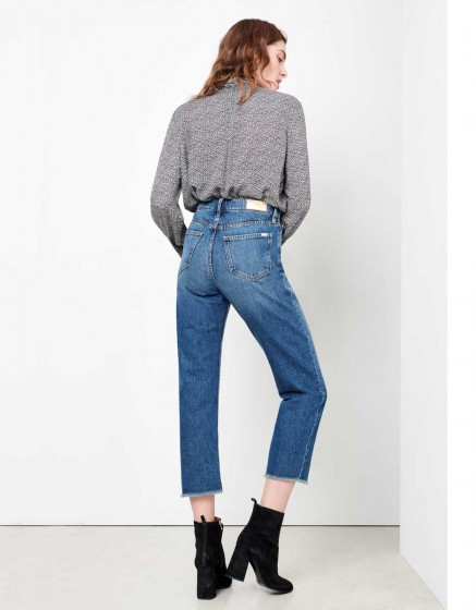 Highwaist cropped Jean Milo - DNM V-200