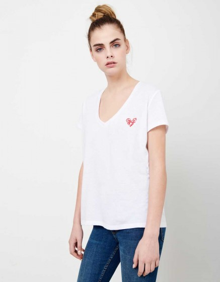 Tee-shirt tania - white