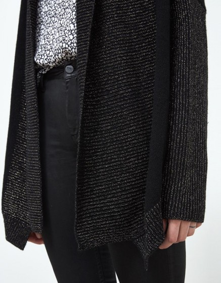 Cardigan Prunelle - BLACK