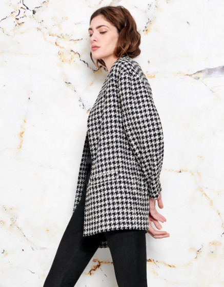 Vita coat - RETRO CHECKED