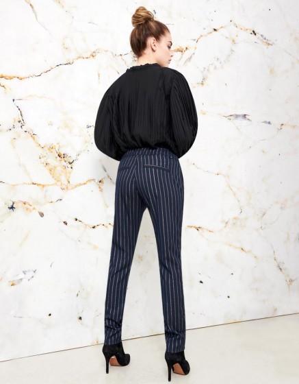 Pantalon street Elvin Fancy - NAVY SILVER
