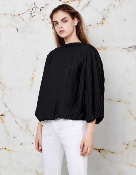 Blouse Tamina - BLACK