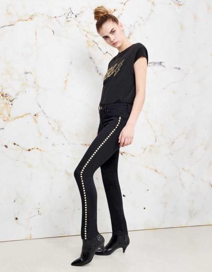 Jean skinny Noris Studs - DNM BLACK