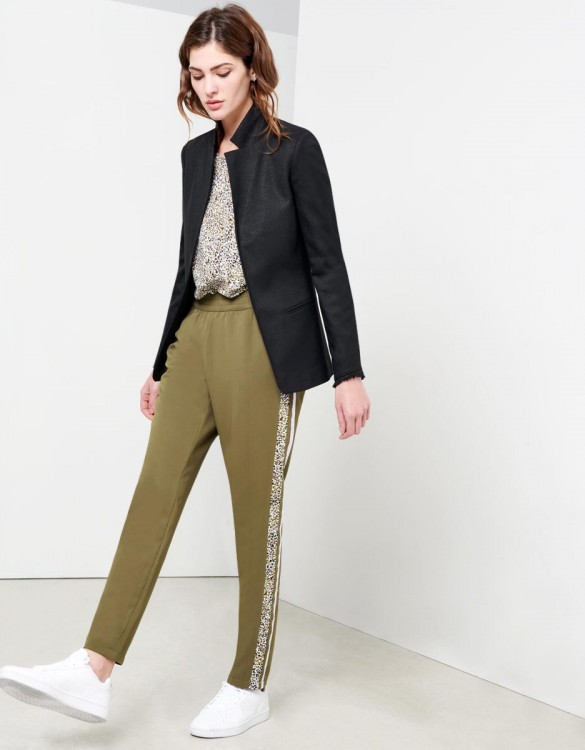 Street trousers Elina Fancy - KAKI